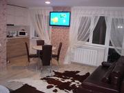 Комфортная современная 1-я квартира-студия ул.Ленина сутки .