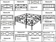 Ритуальные ограды стандарт и на заказ с бесплатной доставкой по РБ