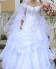 Продам свадебное платье (камни)